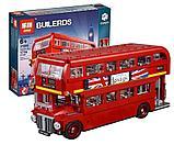 Конструктор LEPIN 21045 Лондонский автобус 1716 деталей аналог Lego 10258 CREATOR LONDON BUS, фото 2