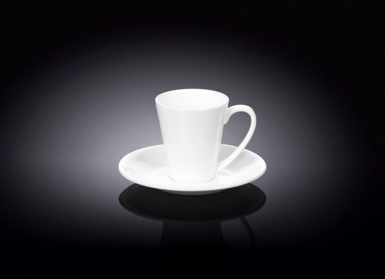 Кофейная чашка 110мл + блюдце Wilmax