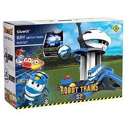 """Роботы-поезда, Игровой набор """"Дозорная башня Кея"""""""