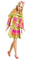 Barbie Коллекционная кукла Винтажная Мода 1968 год, Барби