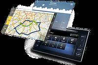 Навигационный блок на родную (штатную) магнитолу Toyota Yaris android 8