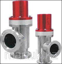 Угловые пневматические нормально-закрытые вакуумные клапаны (пневматические угловые вакуумные клапаны с открыт