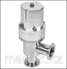 Угловые пневматические вакуумные клапаны с пневмоприводом двустороннего действия (пневматические угловые вакуу