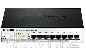 Настраиваемый коммутатор D-link DES-1210-08P
