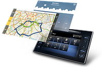 Навигационный блок на родную (штатную) магнитолу Toyota LC150 2013-2017 Android 8