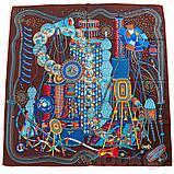 Женский шейный платок в подарочной коробке., фото 6