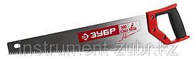 Ножовка по дереву (пила) ЗУБР МОЛНИЯ-5 500 мм, 5 TPI, прямой крупный зуб, быстрый рез поперек волокон