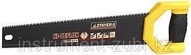 Ножовка двусторонняя (пила) STAYER DUPLEX 400 мм, 12 TPI прямой зуб + 7 TPI 3D универсальный зуб
