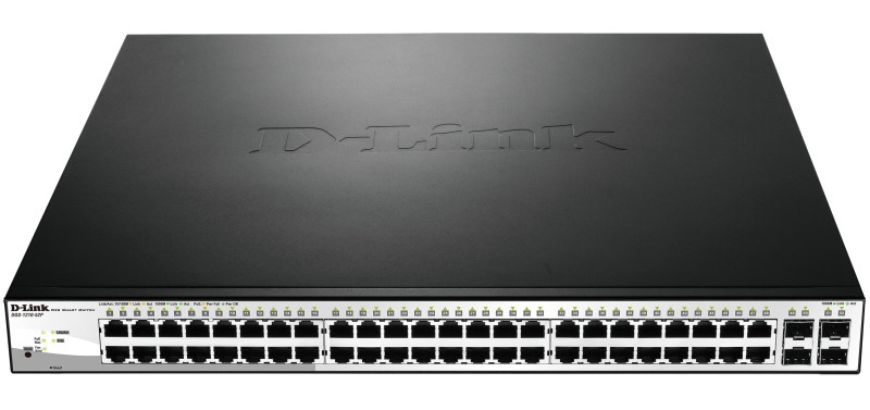 Настраиваемый коммутатор D-link DGS-1210-52P