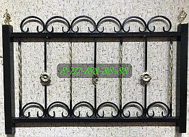 Оградка с элементами ковки №13
