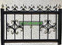 Оградка с коваными элементами №16