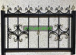 Оградка с коваными элементами №16, фото 2