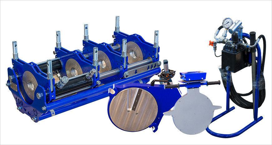 Сварочные аппараты для стыковой сварки полиэтиленовых труб ССПТ- 225 МЭ