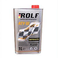 Трансмиссионная гидравлическая жидкость ROLF ATF III 1литр