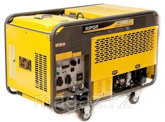 Бензиновый сварочный агрегат KIPOR KGE280EW, фото 2