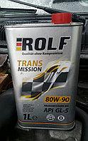 Трансмиссионная гидравлическая жидкость ROLF TRANSMISSION 80W-90 GL-5 1литр