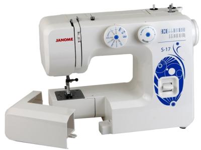 Швейная машина Janome S-17 White