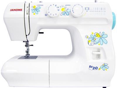 Швейная машина Janome RE-20 White