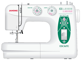 Швейная машина Janome Escape V-17 White