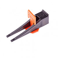 Система выравнивания плитки СВП - комплект: зажим + клин 250/250 шт Сибртех, фото 1