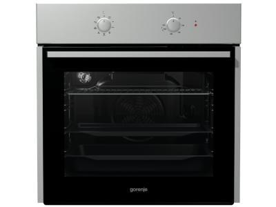Встраиваемые духовка Gorenje BO 615E10 X Silver-Black