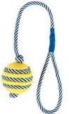 Trixie 34961 Трикси  Мяч со светящейся веревкой, натуральная резина, 5см/40см