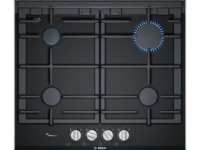 Газовая варочная поверхность Bosch PRP6A6D70R Black