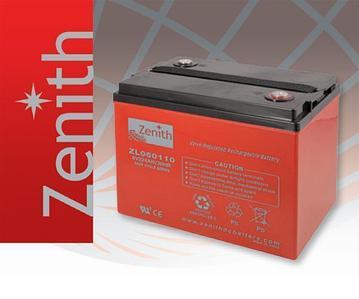 Тяговая необслуживаемая аккумуляторная батарея ZENITH 6В