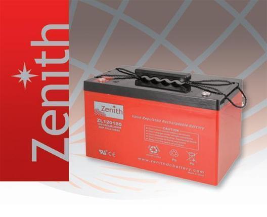Тяговая необслуживаемая аккумуляторная батарея ZENITH 12В, фото 2