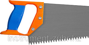 """Ножовка """"ИЖ"""" """"ПРЕМИУМ"""" по дереву с двухкомпонентной пластиковой рукояткой, шаг 8мм, 500мм, фото 2"""