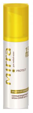 MIRRA Крем-спрей солнцезащитный SPF 15