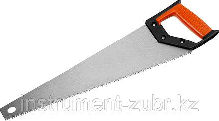 Ножовка по дереву (пила) MIRAX Universal 500 мм, 5 TPI, рез вдоль и поперек волокон, фото 2