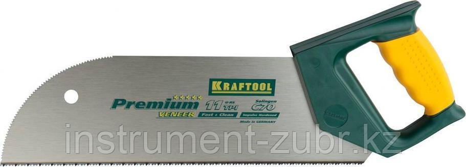 """Ножовка KRAFTOOL """"MULTI-M"""" по фанере, ламинированным материалам, пластмассе, универс зуб, 11TPI, 350мм, фото 2"""