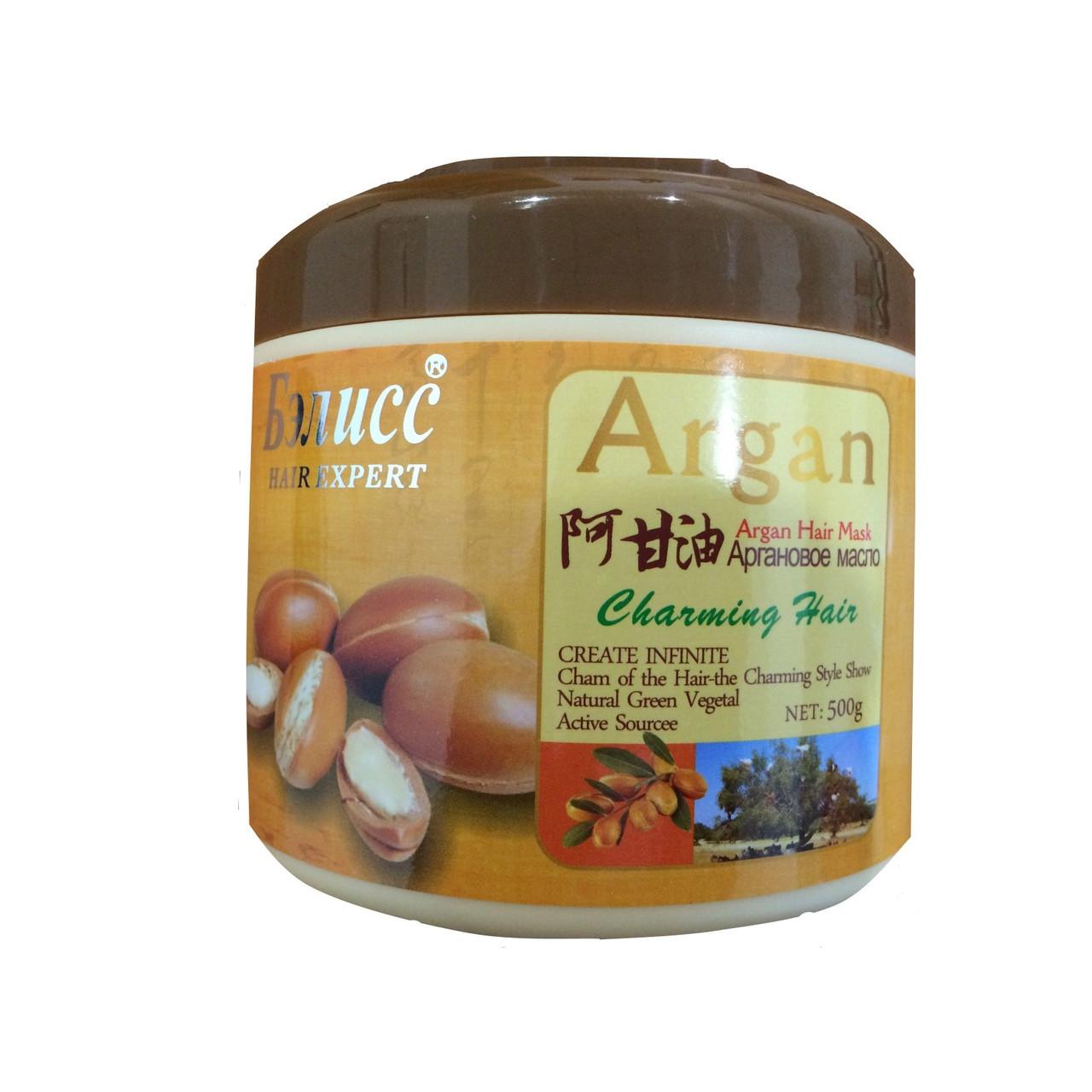 Маска для волос Аргановое масло- Бэлисс 500 г.