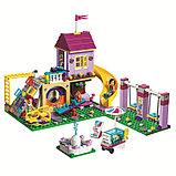 Конструктор BELA Friend 10774 Игровая площадка Хартлейк Сити аналог LEGO Friends  (41325) 332 деталей, фото 2