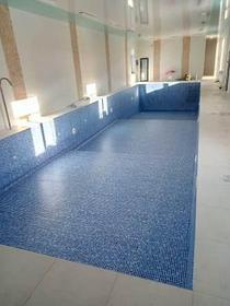Наши работы по облицовке  бетонных и металлических чаш бассейнов ПВХ лайнером 28