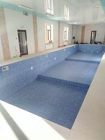 Наши работы по облицовке  бетонных и металлических чаш бассейнов ПВХ лайнером 29