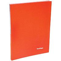 """Папка  20 файлов Berlingo """"Neon"""", 14мм, 700мкм, неоновая оранжевая"""