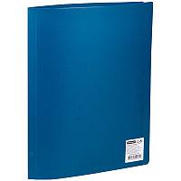 Папка с 20 вкладышами OfficeSpace, 16мм, 400мкм, синяя F20L2_282
