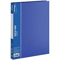 """Папка  30 файлов Berlingo """"Standard"""", 17мм, 600мкм, синяя"""