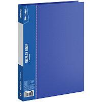 """Папка  40 файлов Berlingo """"Standard"""", 21мм, 600мкм, синяя"""