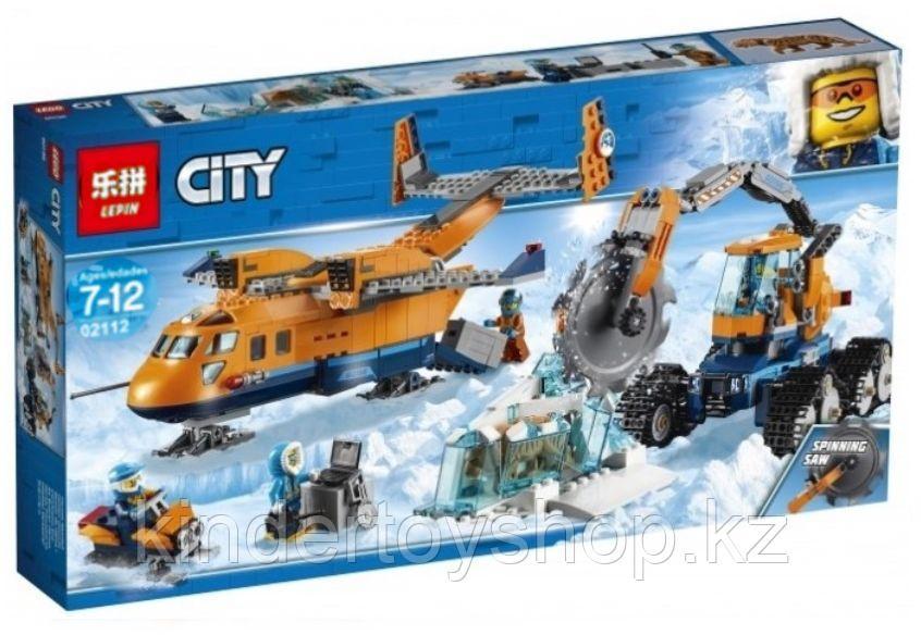 Конструктор LEPIN Cities Арктический грузовой самолёт 02112 (Аналог LEGO City 60196) 791 дет