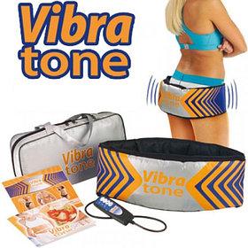 Массажный Пояс для похудения Вибротон (Vibra tone)