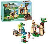 Конструктор BELA 10662 Приключения Моаны на затерянном острове, аналог Lego 41149, фото 2