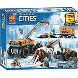 Конструктор BELA 10997 Передвижная Арктическая база аналог LEGO (60195) 804 детали, фото 3