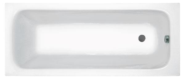 Ванна акриловая JIKA CLAVIS 170*70 (2.3649.0.000.000.1, 2.9674.2.000.000.1)