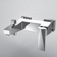 Смеситель Bravat Iceberg F676110C-01 для ванны с коротким изливом