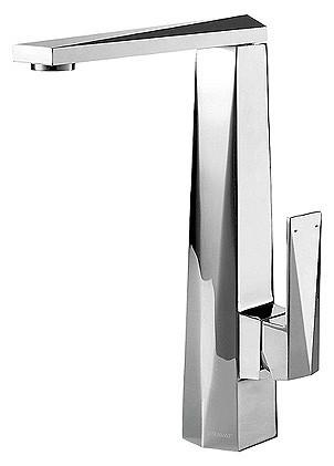 Смеситель Bravat Iceberg F776110C для кухни с высоким поворотным изливом