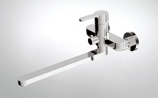 Смеситель Bravat Stream F63783C-L  для ванны излив 300 мм БЕЗ аксессуаров