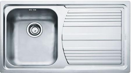 """Кухонная мойка Franke LLX 611  3,5"""" лев короб вент (101.0085.772)"""